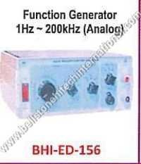 Function Generator 1Hz ~ 200kHz (Analog)