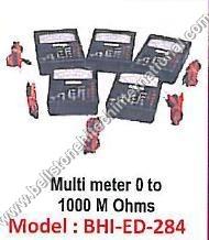Multi Meter 0 to 1000 M Ohms