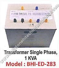 Transformer Single Phase , 1 KVA