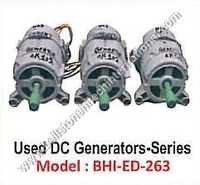 Used DC Generator Series