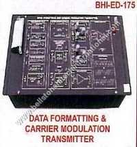 Data Formatting & Carrier Modulation Transmitter