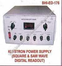 Klystron Power Supply (Square & SAW Wave Digital R