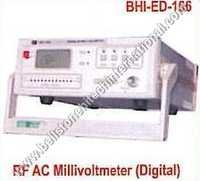 RF AC Millivolmeter Digital