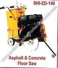 Asphalt & Concrete Floor Saw