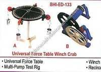 Universal Force Table Winch Crab