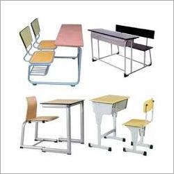 Metal School Desk
