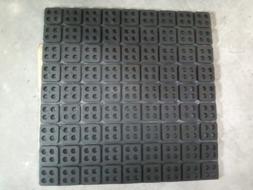 Waffle Rubber Pad