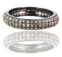 Diamond Pave Silver Ring