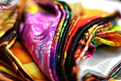 Digital Print Silk Satin Garment Fabrics