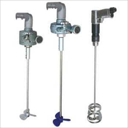 Hand Held Air Powered & Electric Quick Mixers