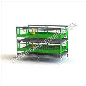 ZUCAMI BROILER BATTERY CAGE SYSTEM