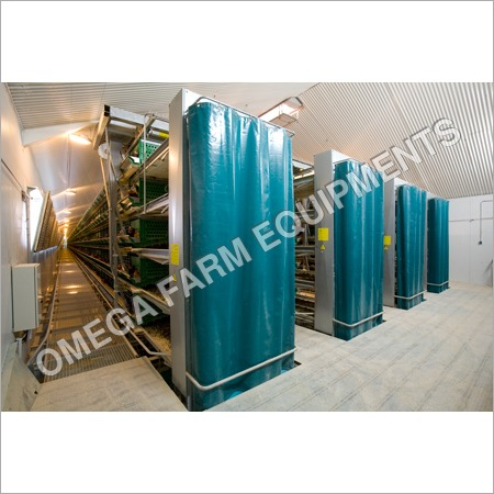 Fully Automatic Battery Cage for Layers Zucami
