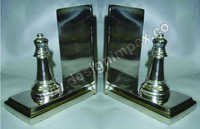 Chess coin Bookend