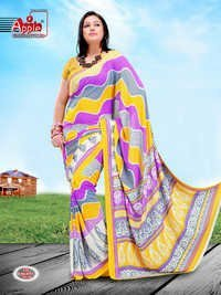 Georgette Polyester Sarees