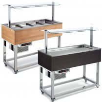 Buffets Display Unit With Cold Well