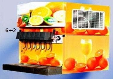 Soda Machine with 6 Valve