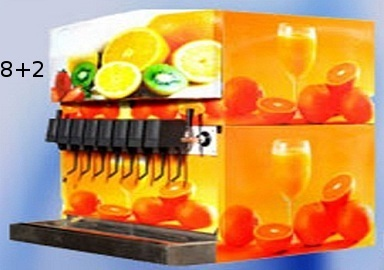 8 Valve Soda Dispenser