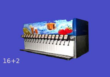 16 flavor soda machine