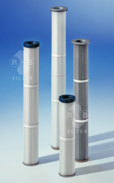 Dust Filter Cartridges Ø 128 mm