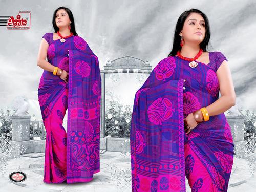 Designer Printed Saree