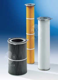 Dust Filter Cartridges with Aluminium Flange