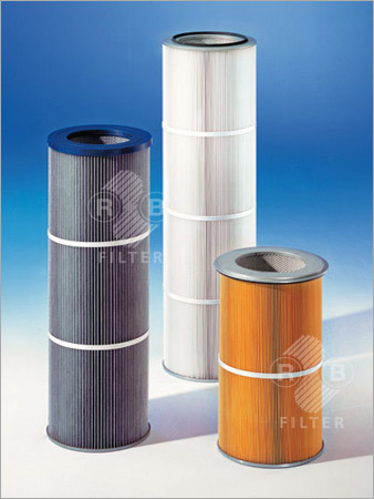 Dust Filter Cartridges Ø 327 mm