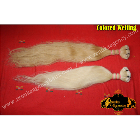 Colored Weft Hair