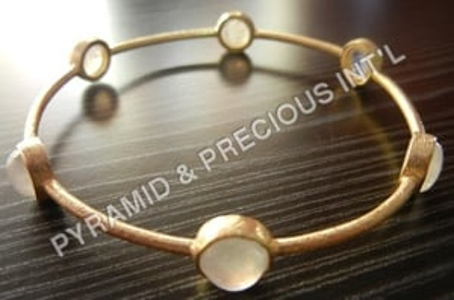 Gold Plated Sterling Silver Bracelets