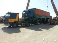 Flatbed Trailer Transportation