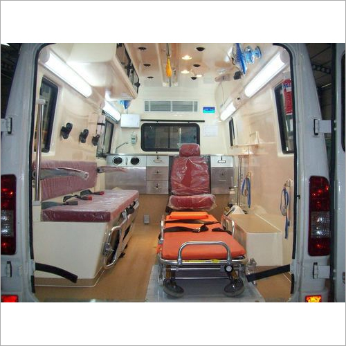 Fabricated Ambulance on Force chassis