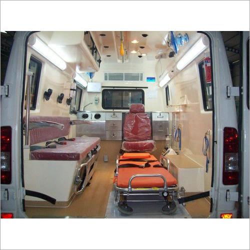Fabricated Ambulance on Force chassis