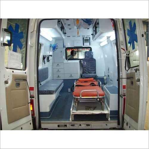 Fabricated Ambulane on Tata winger