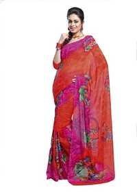 Fashionable Printed Sarees