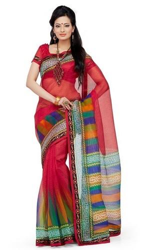 Exquisite Printed Sarees