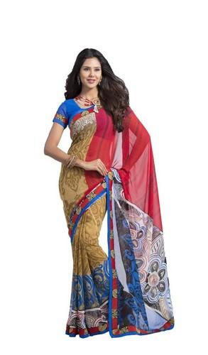 Elegant Printed Sarees