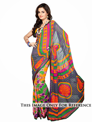 Traditional Printed Sarees