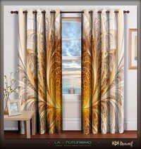 Digital Print Home Decor Designer Curtain Sets