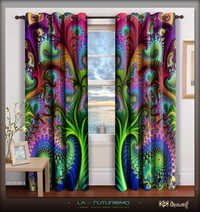 Digital Print High Quality Designer Door Curtain