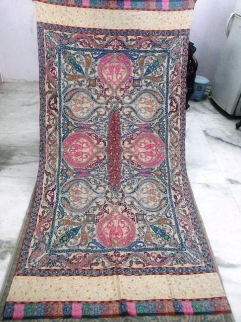 Pure Pashmina Kalamkaar Shawls