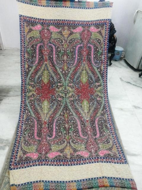 Pure Pashmina Kani Palla Shawls