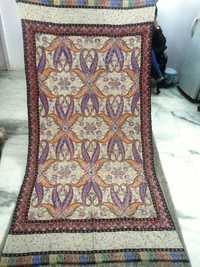 Pure Pashmina Kashmiri Gulab Kaari Embroidery Shaw