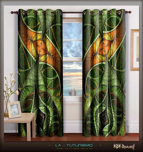 Digital Print Premium Designer Room Curtain