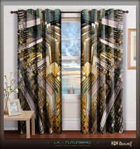Digital Print Abstract Home Decor Designer Curtain