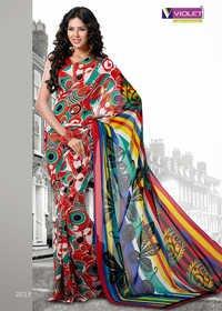 Stylish Printed Sarees
