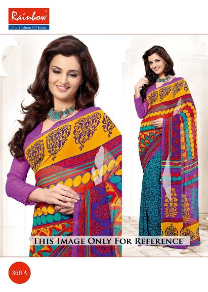 Regular Wear Printed Sarees