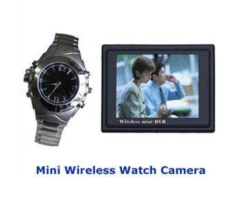 Spy Wireless Watch Camera With Dvr