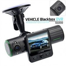 CAR CAMCORDER DVR WITH TWISTABLE NIGHT-VISION DUAL CAMERA