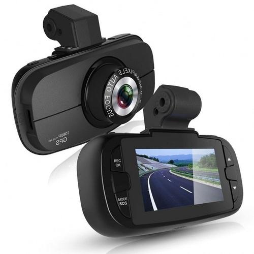 NEW GPS CAR DVR V2000GS DASH CAMERA BLACK BOX HD 1080P IN DELHI INDIA
