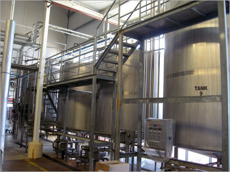 Stainless Steel Plant Tanks