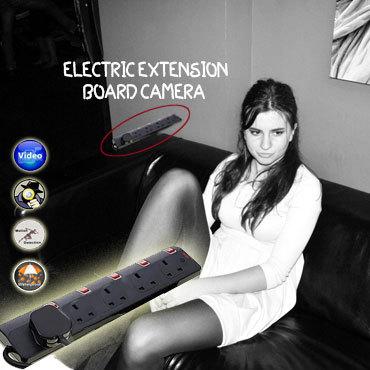SPY CAMERA IN ELECTRIC EXTENSION BOARD IN DELHI INDIA